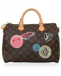 Pre-owned - Cloth bowling bag Louis Vuitton uoUJ4O9Y6X
