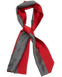 Hermès - Chèches.Echarpes \N Rouge - Lyst