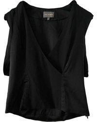 Zac Posen Silk Blouse - Black