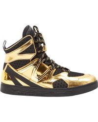 Marc Jacobs - Patent Leather High Trainers - Lyst