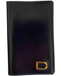 Delvaux Leather Purse - Blue