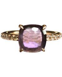 Pomellato Baby Pink Gold Ring - Purple