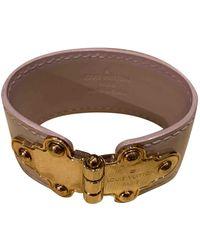 Louis Vuitton Leather Bracelet - Pink