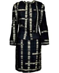Chanel Tailleur Tweed - Nero
