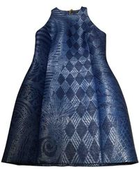 Balmain Robe Bleu