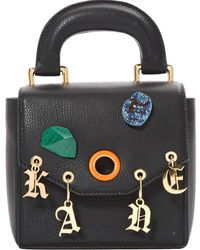 Christopher Kane - Black Leather Handbag - Lyst