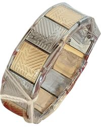 Lancel Gold Metal Bracelet - Metallic
