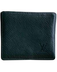 Louis Vuitton Leder Kleinlederwaren - Grün