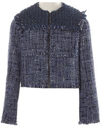 Sonia Rykiel Blue Cotton Jacket