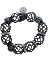 Lanvin - Pre-owned Black Bracelet - Lyst