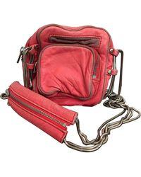 Alexander Wang Brenda Leather Crossbody Bag - Pink