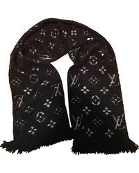Louis Vuitton Foulards en Vison Noir