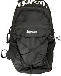 Supreme Cloth Satchel - Black