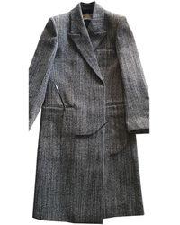 Bottega Veneta Wool Coat - Black
