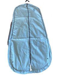 Hermès Linen Travel Bag - Blue