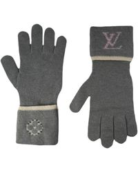 Louis Vuitton Wool Gloves - Gray