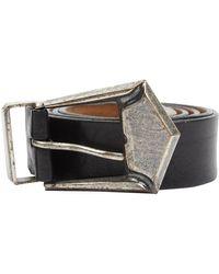 Balmain Leather Belt - Black