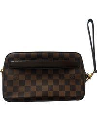 Louis Vuitton KasaÏ Leinen Taschen - Braun