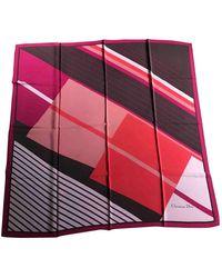 Dior Carré en seda multicolor