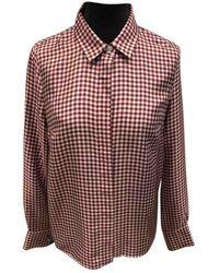 Victoria Beckham Camisa en seda - Multicolor