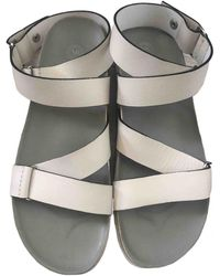 By Malene Birger Leather Sandals - Natural