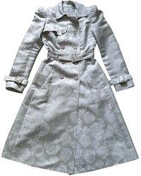 Dior Silk Trench Coat - Multicolour