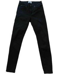 Acne Studios Jeans slim Skin 5 - Nero
