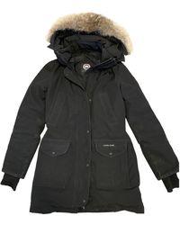 Canada Goose Black Synthetic Coat Trillium