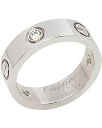 Cartier Anillo en oro blanco blanco Love