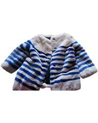 Marc Jacobs Rabbit Jacket - Blue