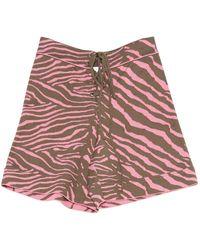 M Missoni \n Pink Cotton - Elasthane Shorts
