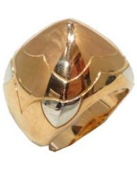 bvlgari preowned yellow gold ring lyst
