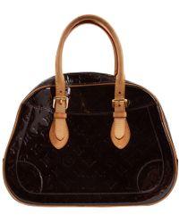 Louis Vuitton - Patent Leather Handbag - Lyst