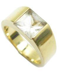 Cartier Gelbgold Ringe - Mettallic