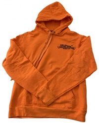 Chrome Hearts Orange Cotton Knitwear & Sweatshirt