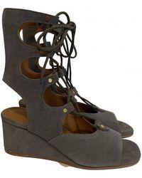 Chloé Sandal - Blue