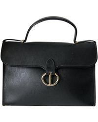 Dior Leinen Handtaschen - Schwarz