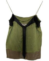 Chloé Silk Camisole - Green