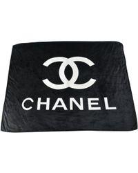 Chanel Plaid - Noir