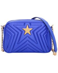 Stella McCartney Bolsa de mano en sintético azul