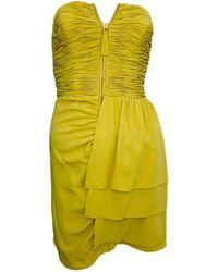 Temperley London Silk Mini Dress - Multicolor