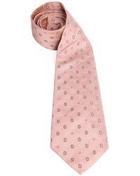 Chanel Pink Silk Tie