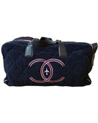 Chanel 48h Bag - Blue
