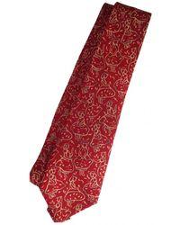Ferragamo Seide Krawatten - Rot