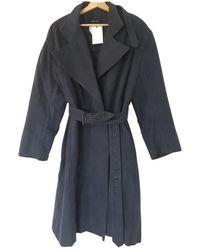 Isabel Marant Mantel Bleu - Noir