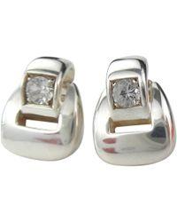 Hermès - Silver Earrings - Lyst