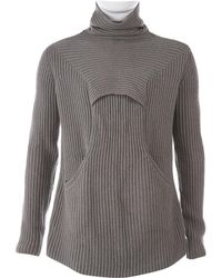 d21688754e80 Lyst - Rick Owens Long Ribbed Roll Neck Sweater In Black in Black ...