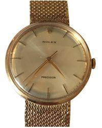 Rolex Gelbgold Uhren - Mehrfarbig