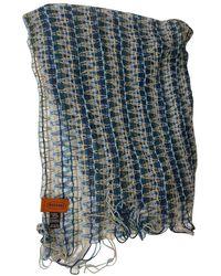 Missoni Foulards en Laine Multicolore - Bleu