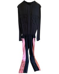 Haider Ackermann Silk Jumpsuit - Multicolor